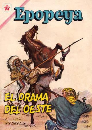 EL DRAMA DEL OESTE Nº 045 1962