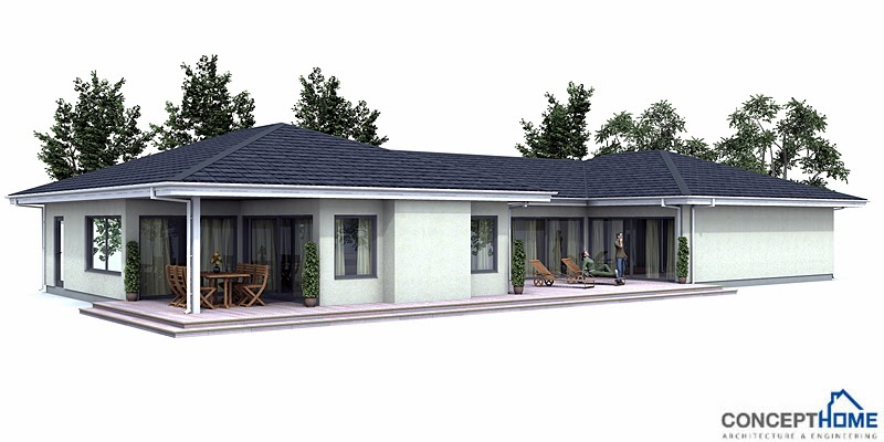 Australian House Plans Modern Australian Home Plan Ch106