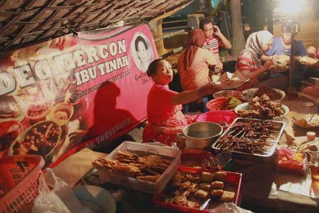 Gudeg Mercon, makanan wajib penggemar pedas