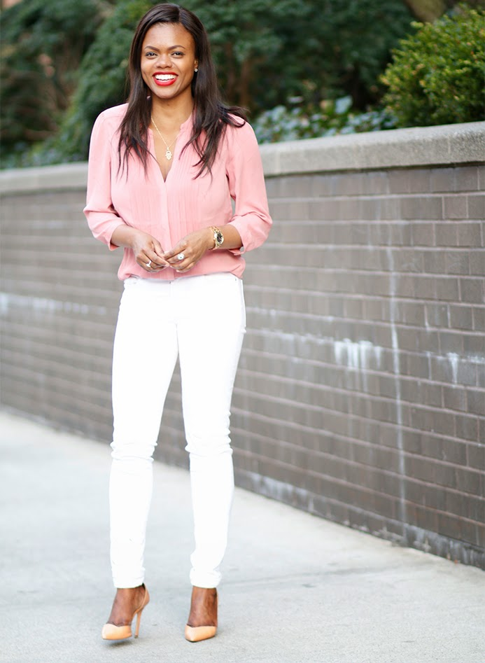 White Jeans | Dadou~Chic