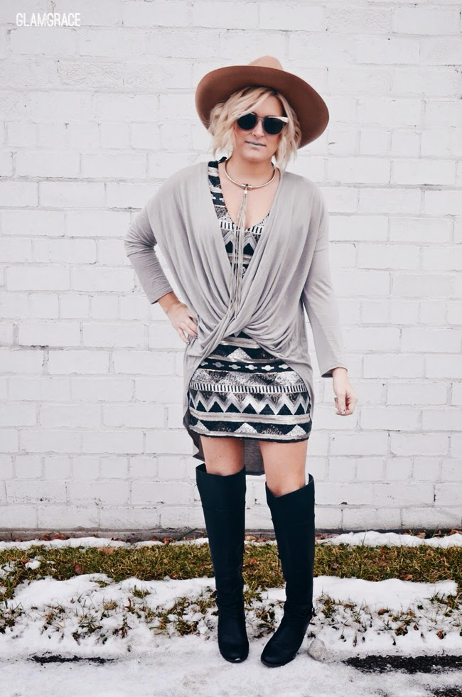 Glam Casual style - layered