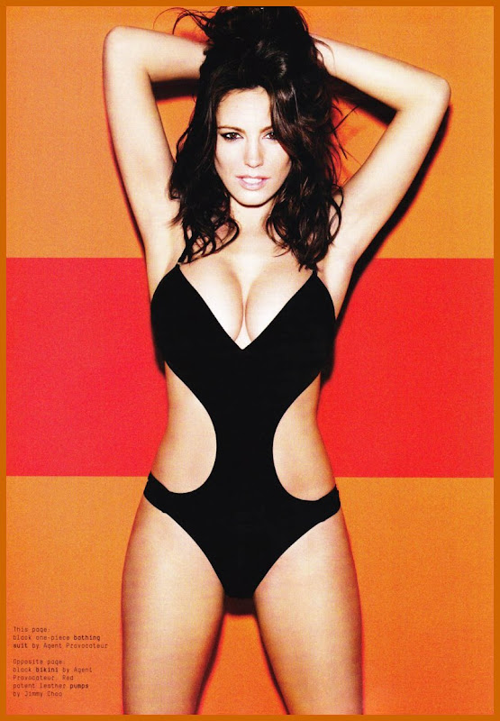 Kelly Brook Strips Down For Esquire Magazine unseen pics