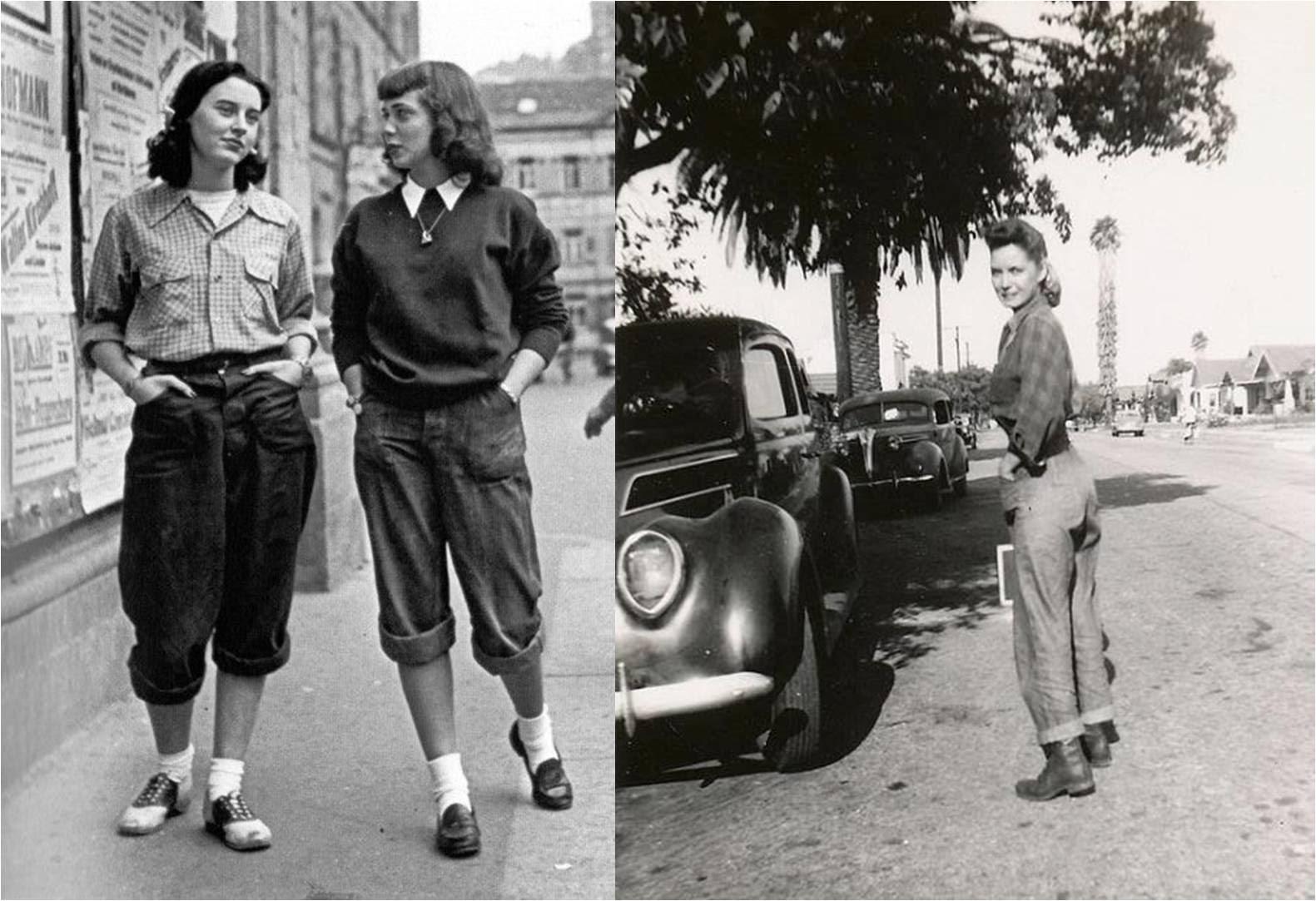 anos 40 a moda e a guerra mente flutuante retr