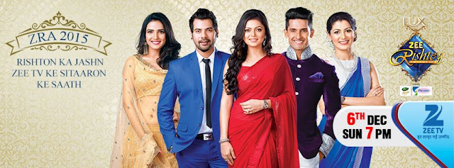 'Zee Rishtey Awards 2015' ZeeTv Upcoming TellyAwards Show Wiki Concept |Host |Promo |Timings |Winners |Celebrities