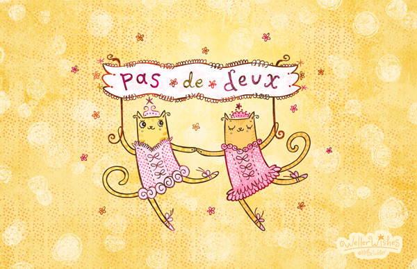 WellerWishes Pas De Deux available at Society 6