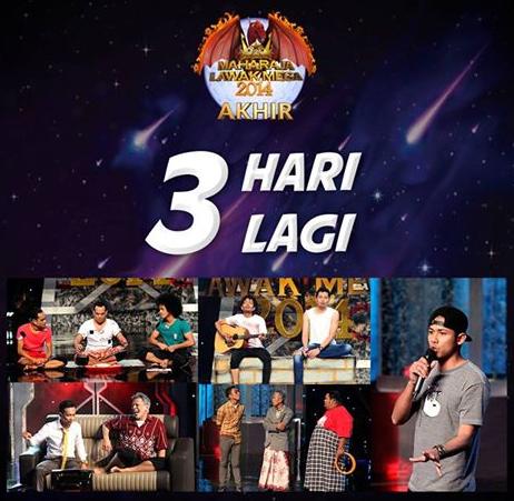Video Maharaja Lawak Mega 2014 Minggu 13 Akhir