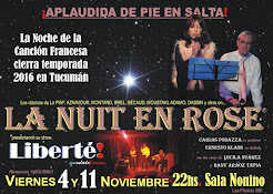LA NUIT EN ROSE: Fin de temporada 2016 en Tucumán