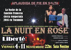 LA NUIT EN ROSE: Fin de temporada 2016 en Tucumán