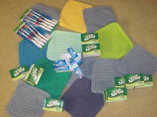 crocheted items for homeless