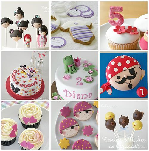 talleres decoración tartas, galletas, cupcakes y cakepops