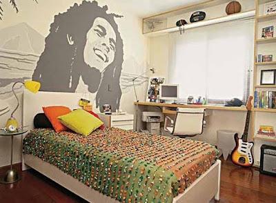 kamar tidur lelaki