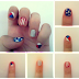 AMERICAN FLAG INSPIRED NAIL ART TUTORIAL