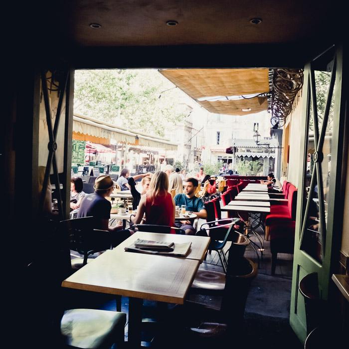 Cafe in Arles France