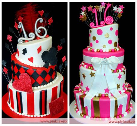 Jadorelux Sweet 16 cake ideas