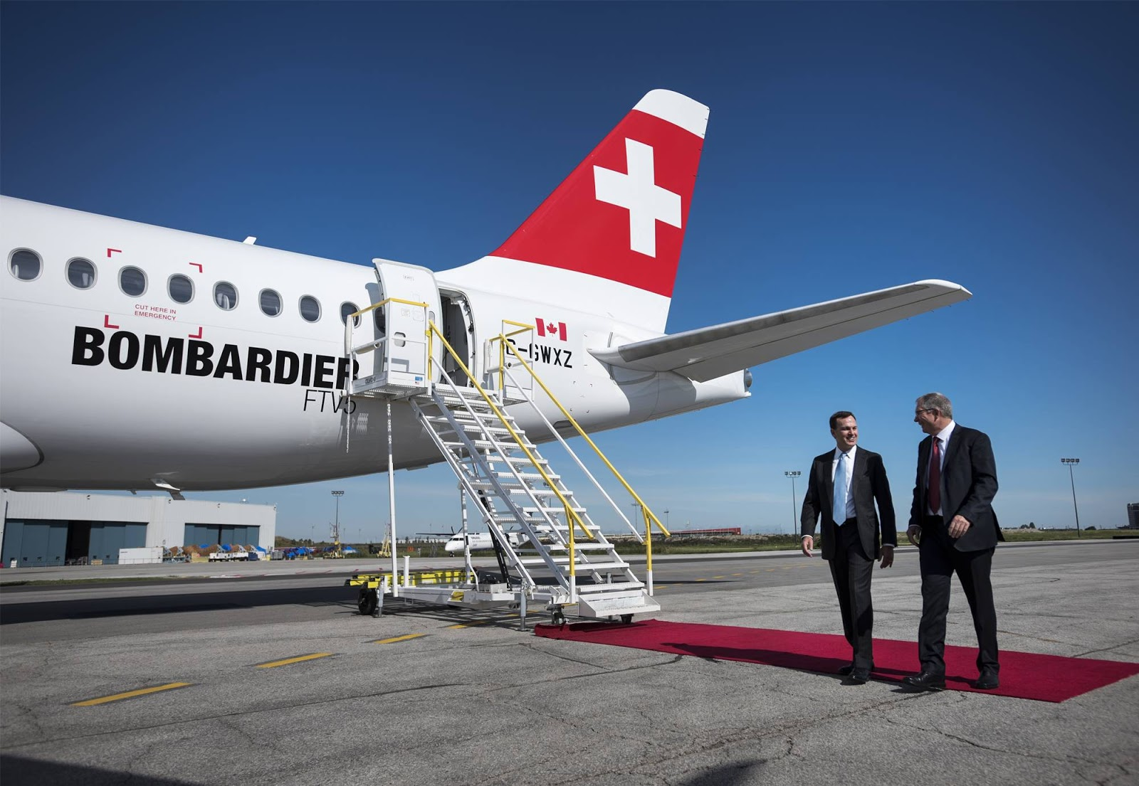 Biz jet way bombardier has been burning cash at an alarming rate and has not secured any firm c series aircraft orders for over 12 months fandeluxe Images