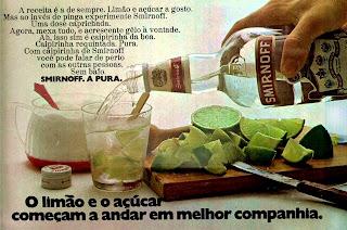 propaganda vodka Smirnoff - 1972; 1972; os anos 70; propaganda na década de 70; Brazil in the 70s, história anos 70; Oswaldo Hernandez;
