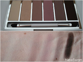 Colour Party Palette (weg and dry eyeshadow)  02 Generous Earth Colours in the World - Limited Edition