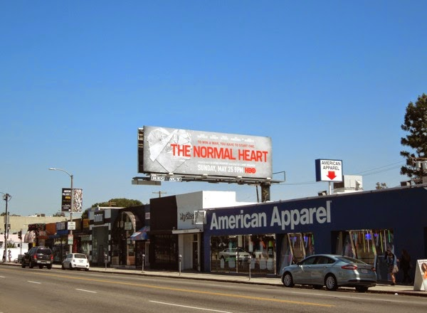 Normal Heart movie billboard