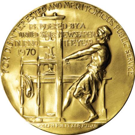 Pulitzer Prize Medal