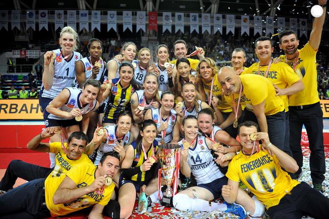 2014 - 2015 LİG ŞAMPİYONU FENERBAHÇE GRUNDİG