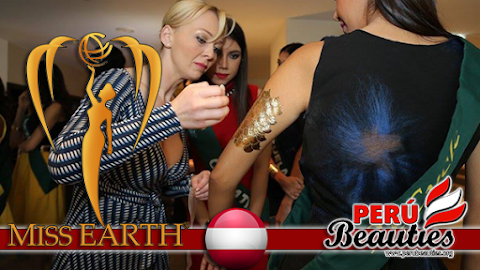 Miss Earth 2015 Gets Prtty Tattooed