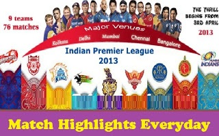 IPL 6 Final Match Highlights – MI Vs CSK – 26th May