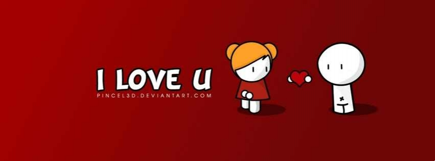 love u facebook cover photo download in love