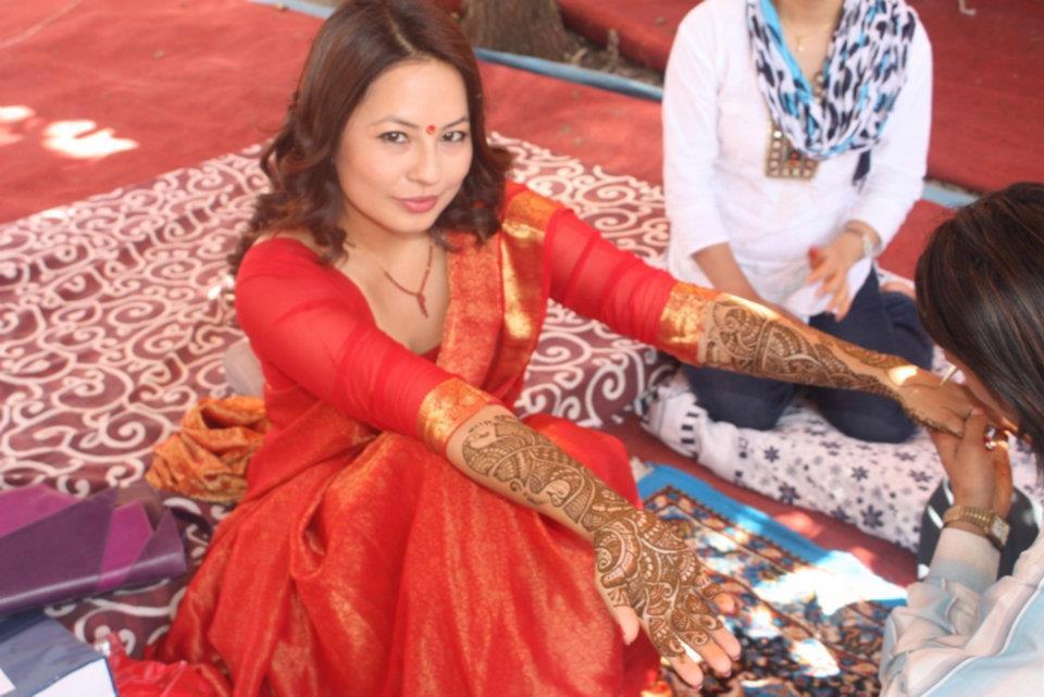 No 1 Source Of Entertainment From Nepal Marriage Photos Of Malvika Subba With Riyaj Shrestha