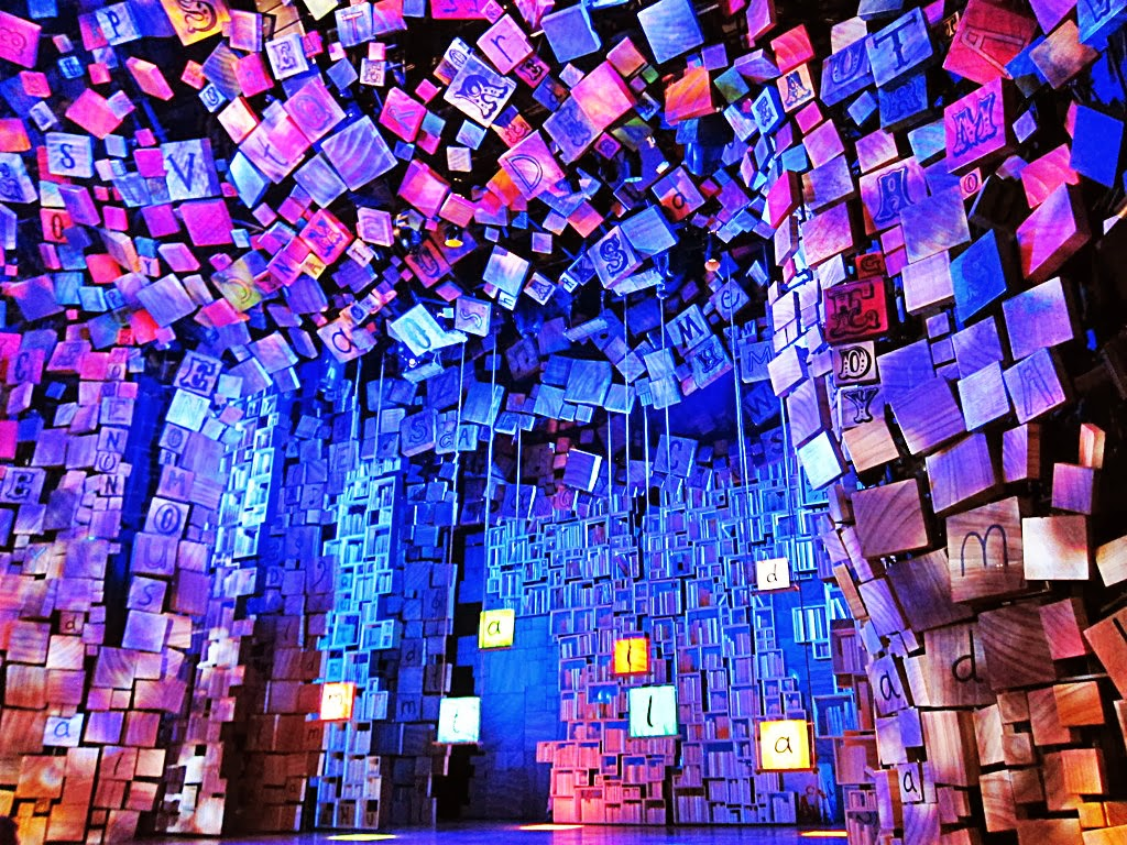 Matilda the musical stage
