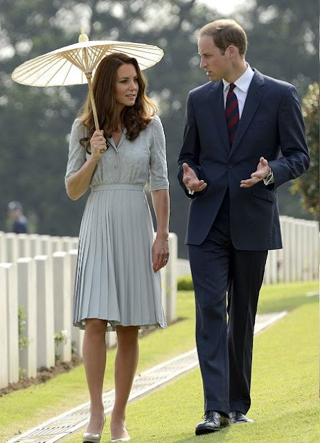 Jenny Peckham dress worn by Kate Middleton