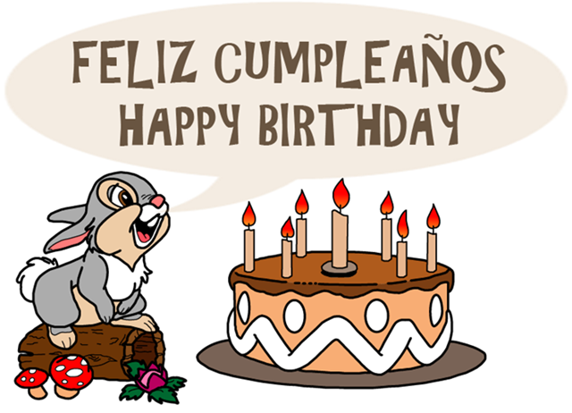 Feliz cumpleaños / Happy Birthday
