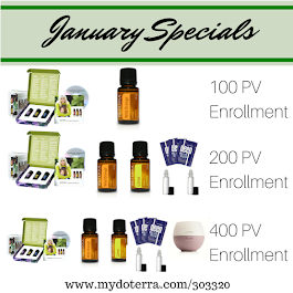 Our January Specials!