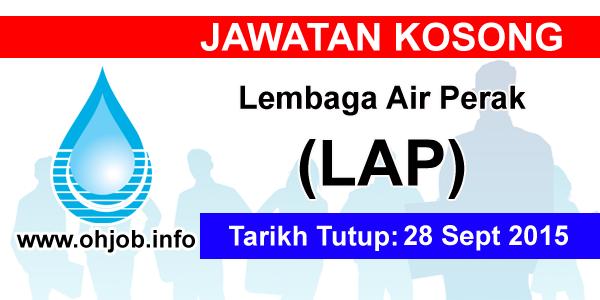 Jawatan Kerja Kosong Lembaga Air Perak (LAP) logo www.ohjob.info september 2015