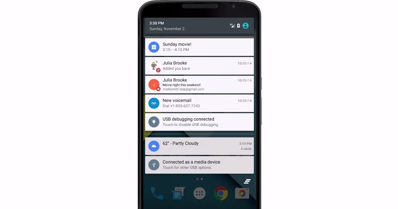 Android 5.0 高效率通知卡片活用必知的 10 個技巧