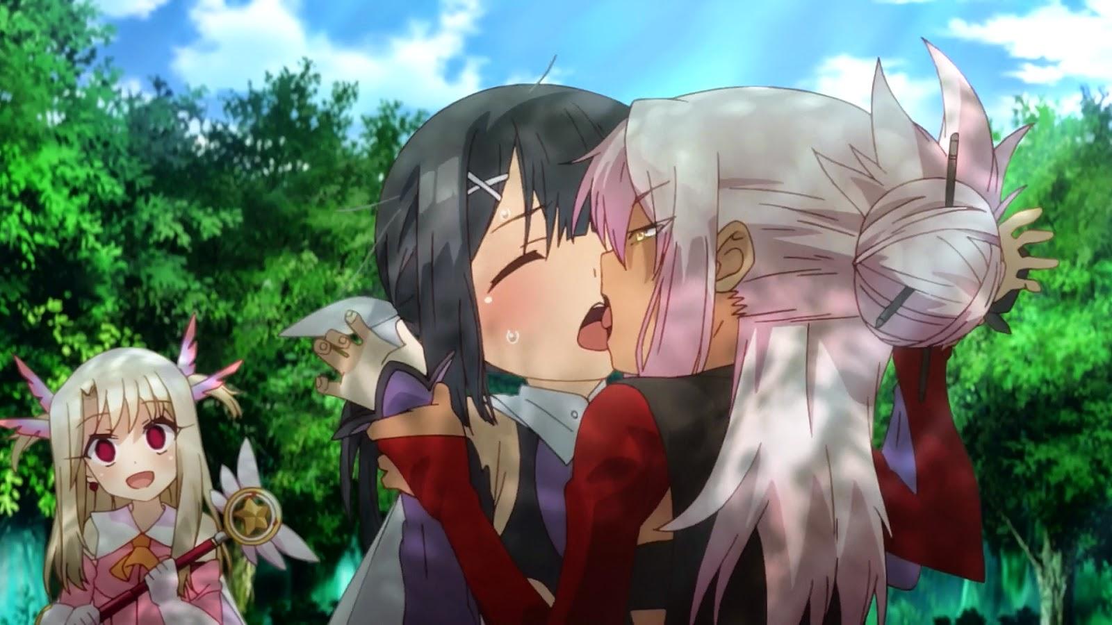 Illya and Kuro kiss