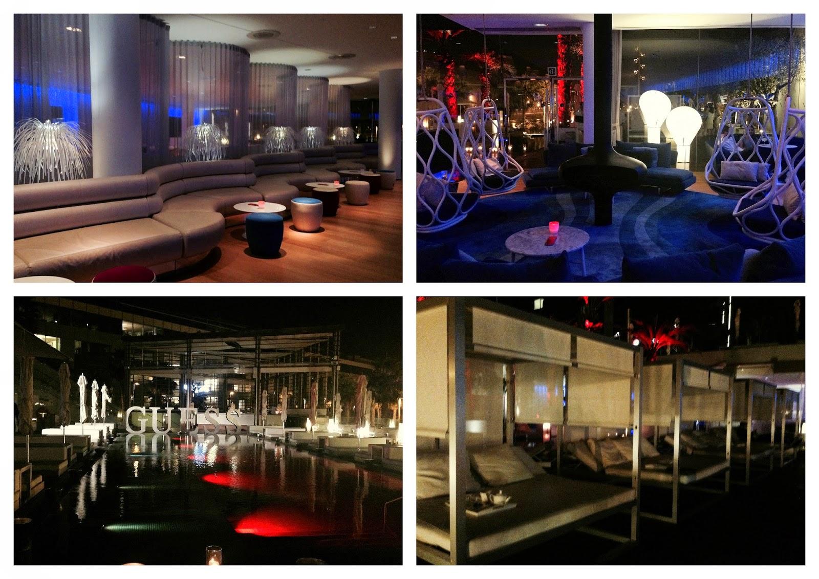 hotel w bcn magica barcelona discoteca guess