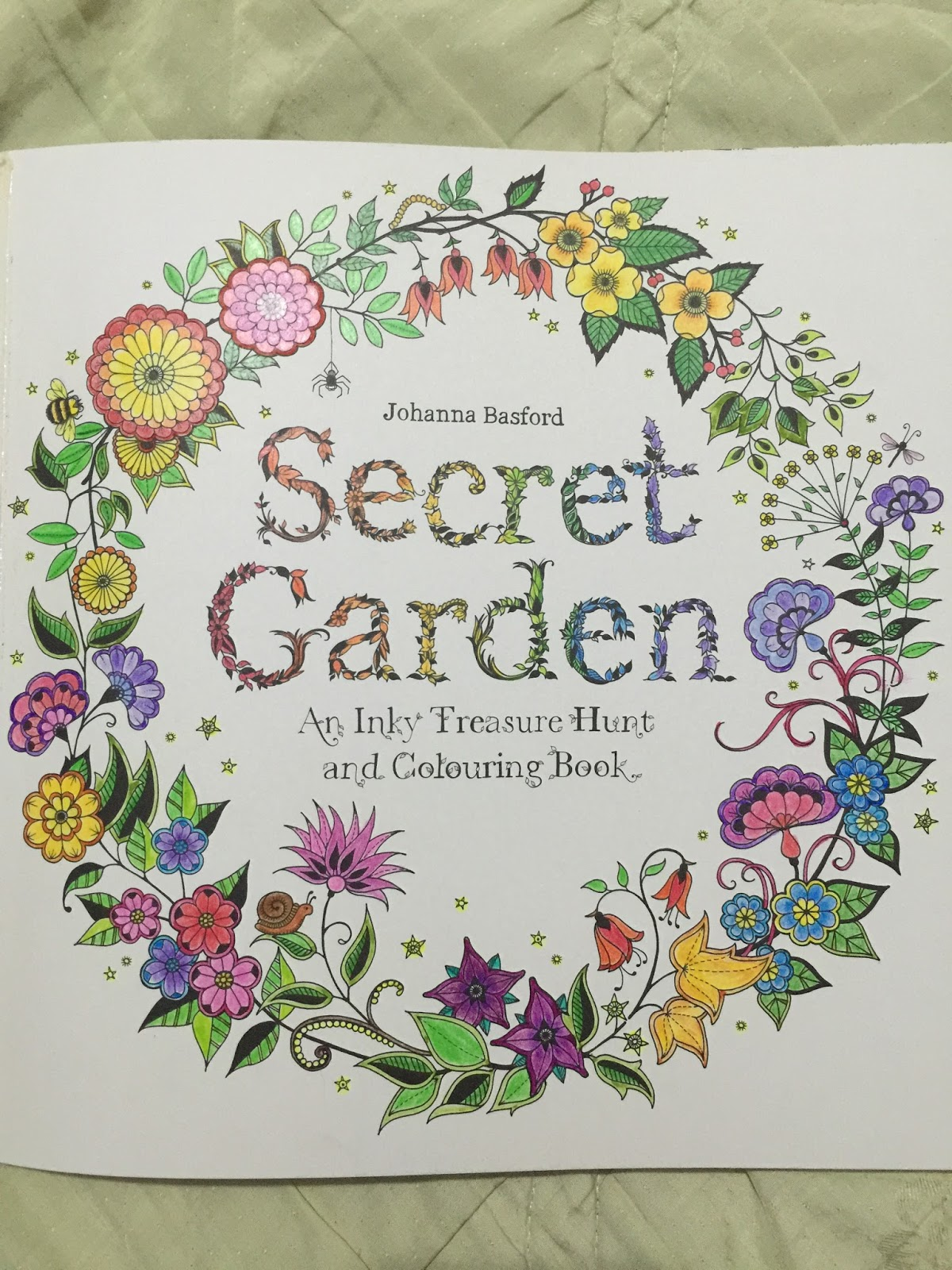 below are my art pieces images are clickable to enlarge - My Secret Garden Coloring Book