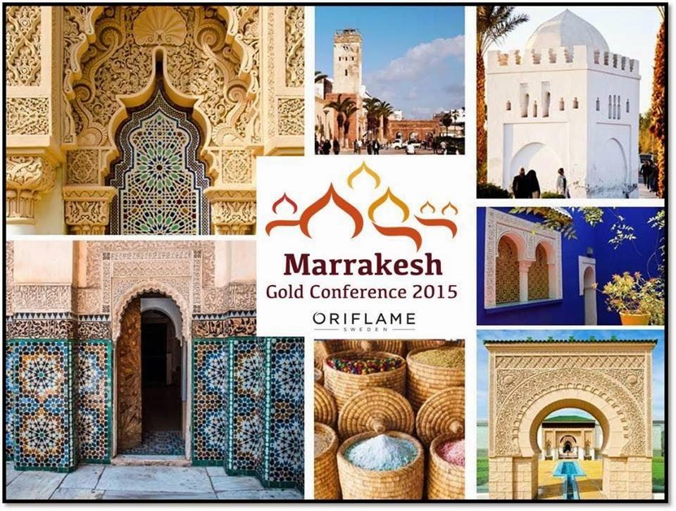 Conoce Marrakech con Oriflame