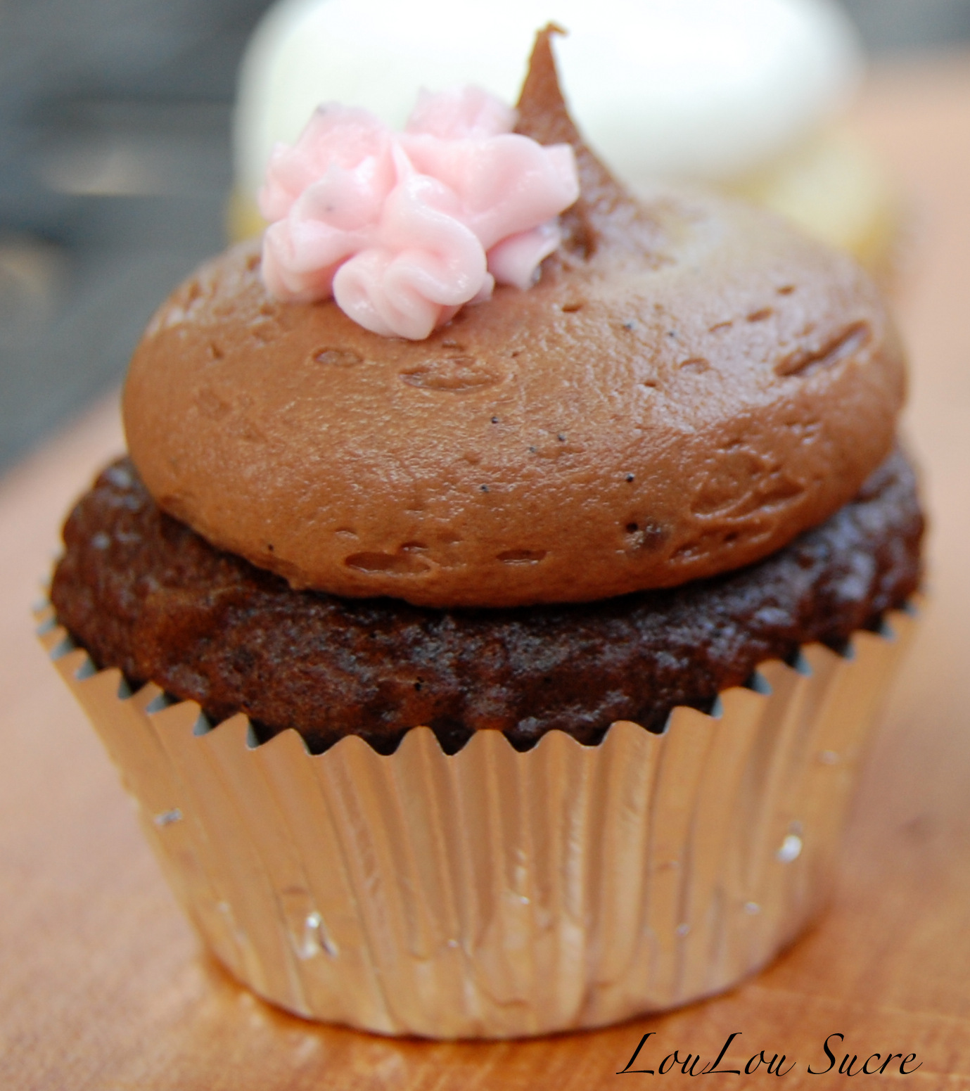Chocolate Fudge Cupcakes with Chocolate Buttercream Frosting