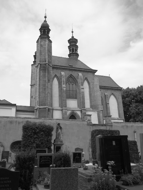 The bone church (ossuary) in Kutna Hora, Czech Republic.