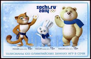 Mascotas de las Olimpíadas de Sochi