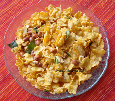 corn flakes cereal chivda