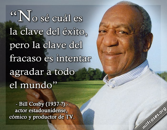 frases de Bill Cosby Jr. actor estadounidense, cómico, productor de televisión