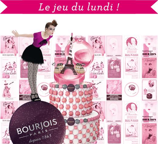 Bourjois jeu du lundi: 5 lots de produits DIM et Bourjois