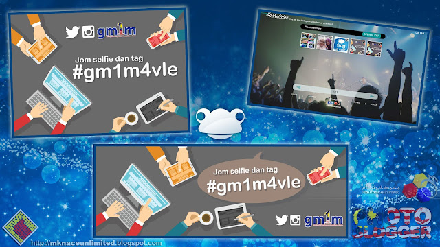All set for the #gm1m4vle campaign