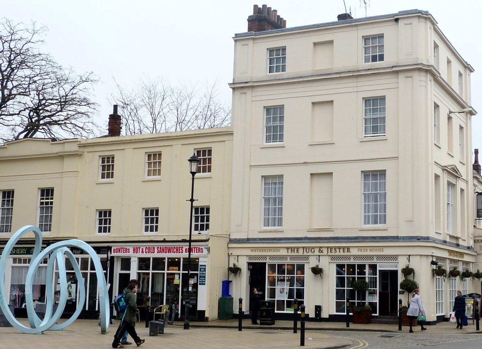 The Jug & Jester pub, Bath Street