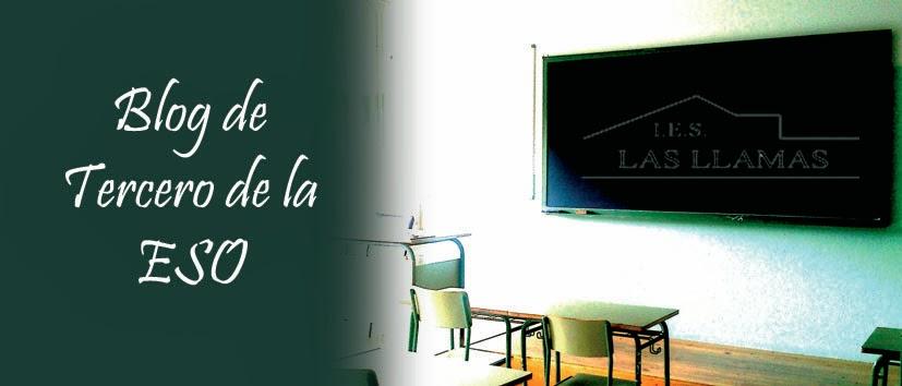 Blog de 3º de la ESO (IES Las Llamas)