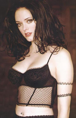 Rose McGowan Posing