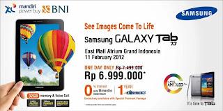 Harga Samsung P6800 Galaxy Tab 7.7 Android Tablet