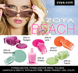 Zoya Nail Polish: Beach Collection